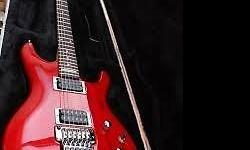Very good condition!! Red Ibanez JS100 Electric