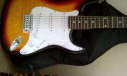 Fender Strat style Santafe Electric Guitar + Guitar Bag