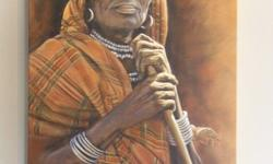 4 Original paintings by the renowned painter from KZN,