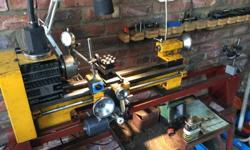 Austrian made precision lathe. For perfection work. I