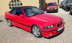 BMW 328I M3 CONVERTABLE 1996 5 SPEED MANUAL 140 595 KM
