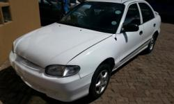 HYUNDAI ACCENT  5SPEED MANUAL MAGS  EXCELLENT ON FUEL