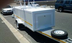 Fully enclosed trailer L3 X W 1.2 X H 750mm 13 inch