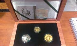 The Mandela Palladium Endangered Species Set minted by
