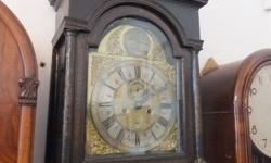 English Antique Grandfather Clock � One-of-a-kind �
