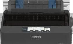 Epson LX-350 Dot-matrix Printer, 80 Columns, up to 357