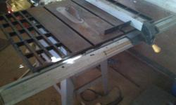 Eurasia table saw.perfect working cpndition.moving to