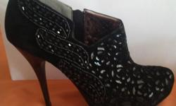 Beautiful black evening shoes for sale. Never worn.