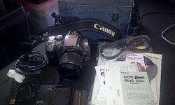 Canon EOS Digital Rebel 300D for Sale complete with