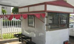 EXCELLENT CONDITION MOBILE FOOD TRAILER.(Pre-Owned)
