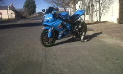 2008 GSX-R 1000 Excellent condition, no scratches or