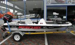 specifications 50hp Mercury motor Live well Motorguide