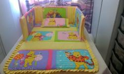 Pooh And Friends Baby Comforter Set. Beautiful baby