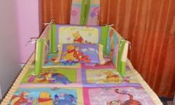 Full Baby Cot sets. Comforter + Easy Breathe Pillow +
