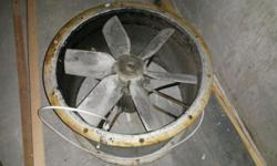 WANTED:Extractor Fan..1.5-1.6kw,560mm or bigger..