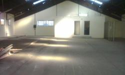 Warehouse/factory/workshop for rent in Alrode North.