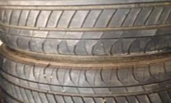 Set in good condition 2 x tyres approx 80%, 2 approx