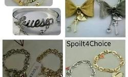 Beautiful guess braclets at the best and cheapest