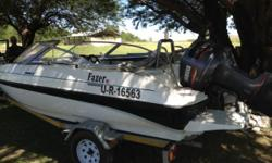 Beskrywing 2008 Fazer Ski boat with 130hp yamaha 78