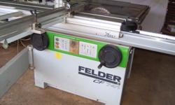 CF 741 Combination machine with a 2,1 m sliding table,