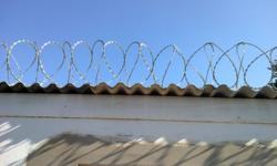 We supply and install flatwrap razor wire,wall