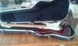 Fender electric guitar incase 12000.0 Jeanette