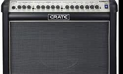 Brand new Crate 65w Flexwave guitar amp with foot