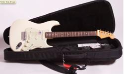 Brand New John Mayer Strat in white. Great Sound . one