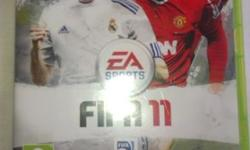 FIFA11 Xbox 360, used but still in good condition.
