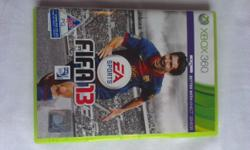 FIFA13 Xbox 360, used but still in good condition.