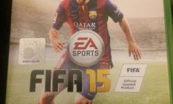 Selling fifa 15 for the xbox one, still in excellent
