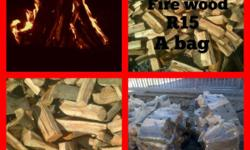 For the driest fire wood and braai wood black wattle