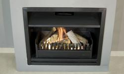 Complete built in fireplaces,convection with 3.6m flue