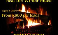 Firewood, supplied, delivered and stacked where you