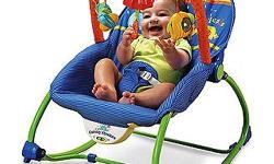 Little One bouncy baby seat with toy arch excellent