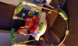 Fisher Price Rainforest Jumperoo in very good