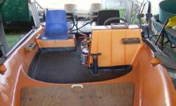 Beskrywing Fishing boat for sale with 2 x 35 Johnson