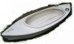 Soort: Angling Standard fishing canoe with mount for a