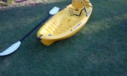 Fishing kayak, wilderness ripper Still in very good