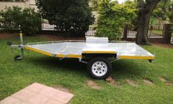 Flat bed trailer for sale Licenced and roadworthy Ideal