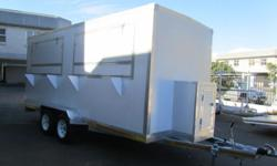 MOBILE KITCHEN TRAILER BRAND NEW INSULATED PANEL DOUBLE