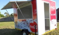 MOBILE VENDOR TRAILERS - CAN BE TAKEN TO ALL YOUR