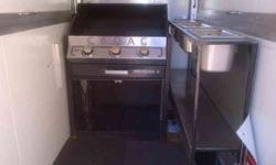 Food vending trailer for sale R18 000 It is a 2 man