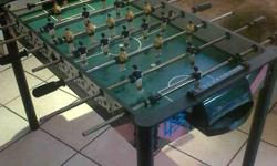 Soccer ball table - in very good condition