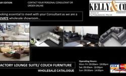 For wholesale quality lounge suite and couches at 50%
