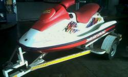 SeaDoo 700 GSX 2-1/2 Seater On Trailer - R22 500.00