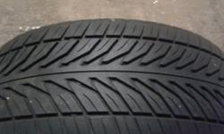 "For sale 17"" 205/40/17 tyre I have no use for it 70%"