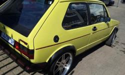 For sale 1984 Gold 2 door GT. Mags, Sound. Start and