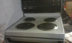 For Sale; 4 plate stove, in full working condition,