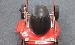 Professional Coaster electric lawnmower, hardly used,